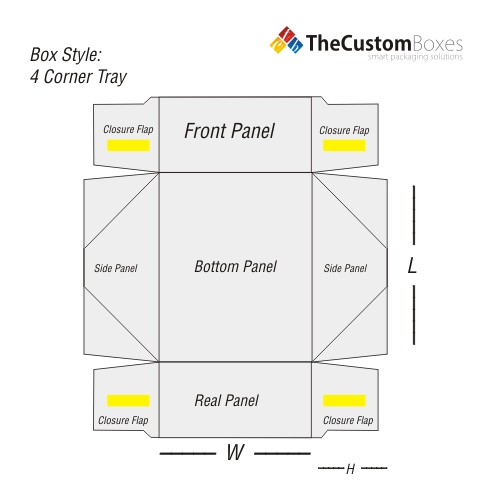 structural-design-of-Four-Corner-Tray-Boxes