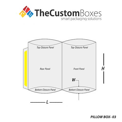 structural design of Pillow Box Boxes